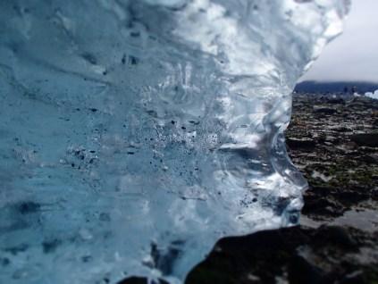 A beached iceberg