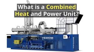 Image illustrates What is a CHP Unit within Combined Heat and Power Systems.