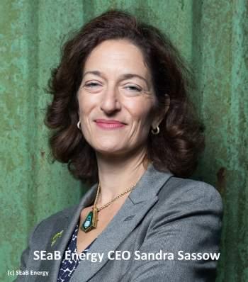 SEaB Energy CEO Sandra Sassow