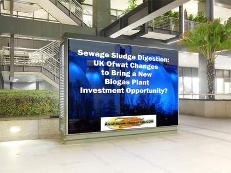 Sewage sludge digestion ofwat investment opportunity