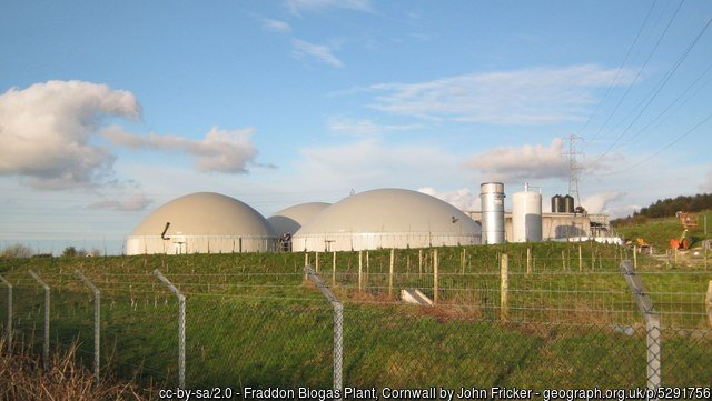 Anaerobic digestion in the UK -