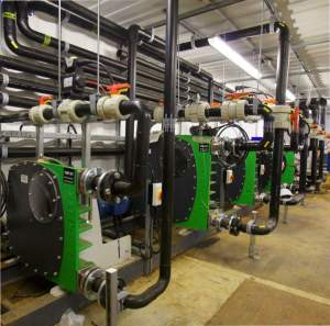 Image of Verder pumps at a biogas plant pumping food waste.