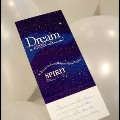 Dream a Little Dream, Parish Dinner, Dance and Auction