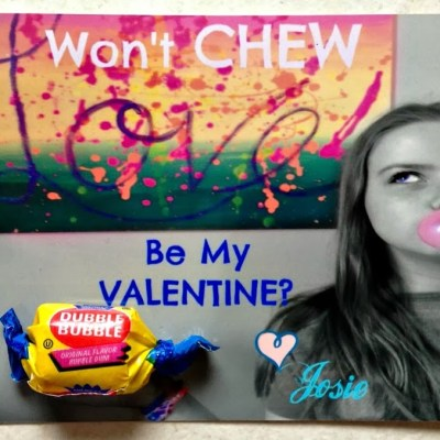 Won't CHEW be my Valentine?