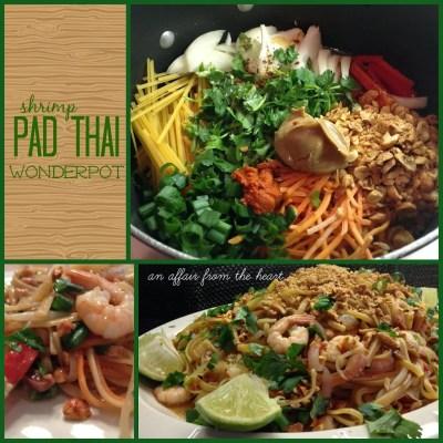Shrimp Pad Thai Wonder Pot