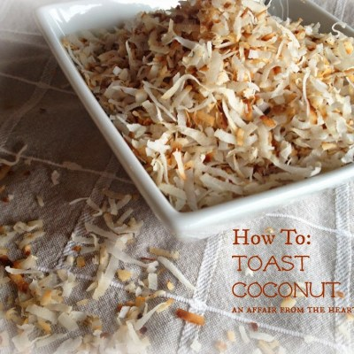 How To: Toast Coconut