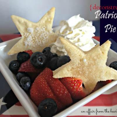 {deconstructed} Patriotic Pies