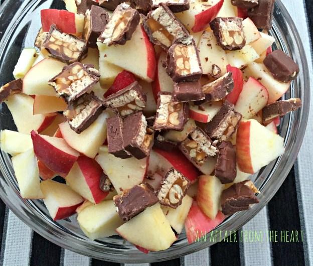 snicker apple salad