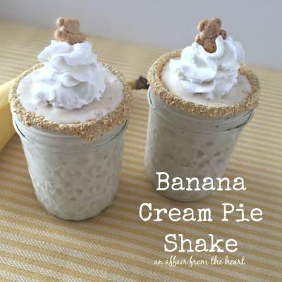 Banana Cream Pie Shakes