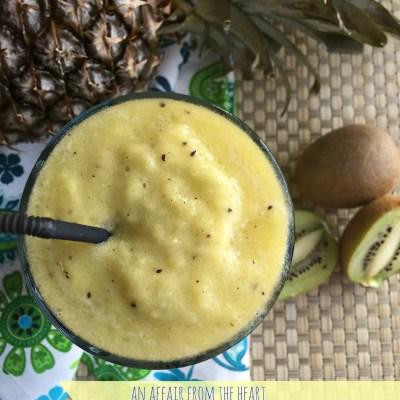 Pineapple Kiwi Smoothie