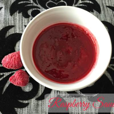 Seedless Raspberry Sauce