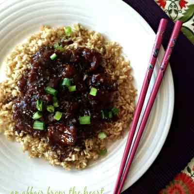 Copy Cat P.F. Chang's Mongolian Beef