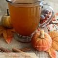 Pumpkin Spice Hot Toddy