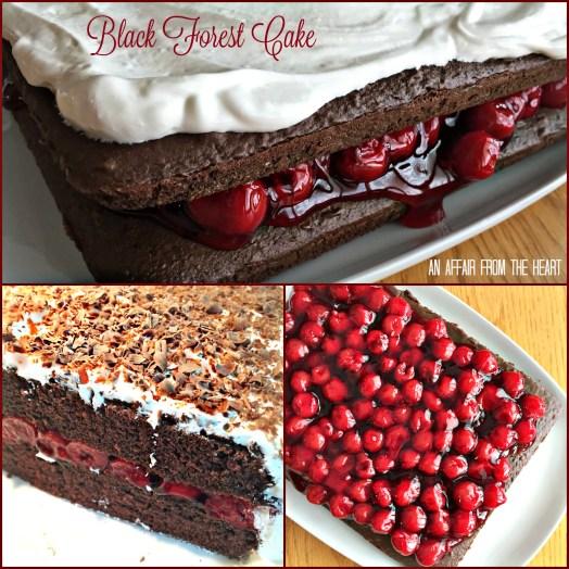 Easy Black Forest Cake Recipe Cherry Pie Filling