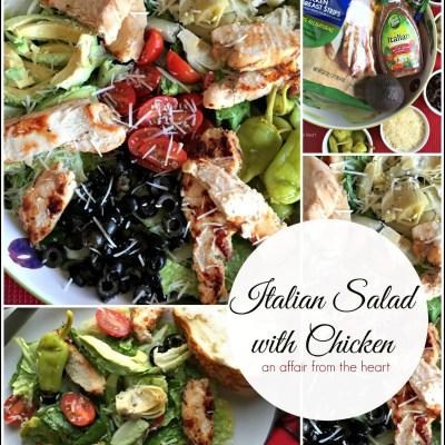 Italian Salad with Chicken