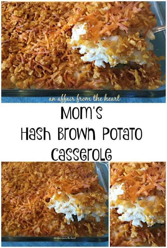 Hash Brown Potato Casserole | An Affair from the Heart