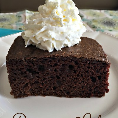 Depression Cake
