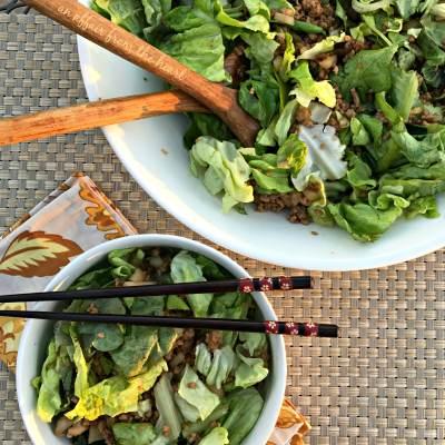 PF Changs Lettuce Wrap Salad