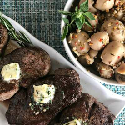Herb Butter Filet Mignon