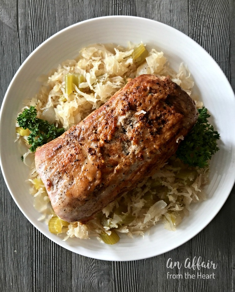 Pork Roast & Sauerkraut