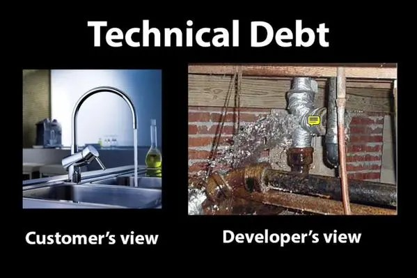 Technical Debt (Customer vs Dev View)