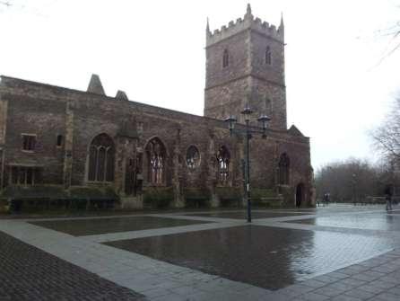 Bristol St. Peter's church
