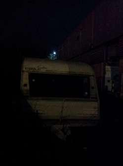 Caravan in a squat, Bristol
