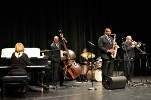 Jimmy Greene and Friends; Jimmy, Nate Reeves, bass, Jonathan Barber, drums, Steve Davis, trombone, Jennifer Allen, piano