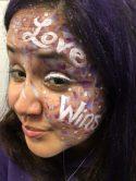 Love Wins Face Paint