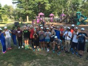 Crowd on a Playground