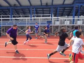 Running on Track