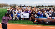 Big Crowd with Love Wins Sign