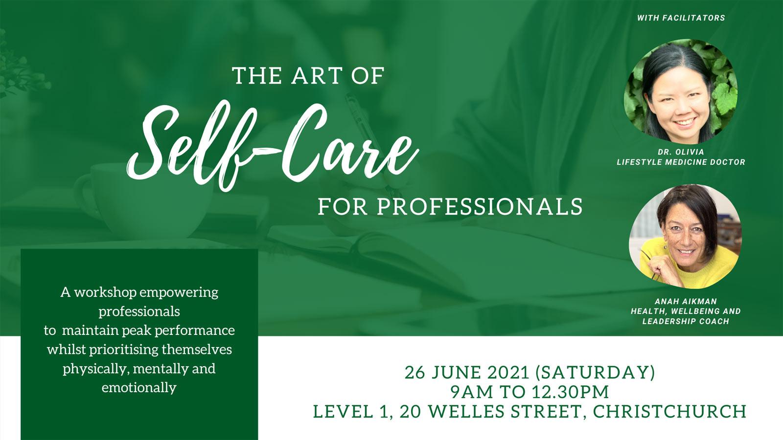 Self-Care Workshop for Professionals