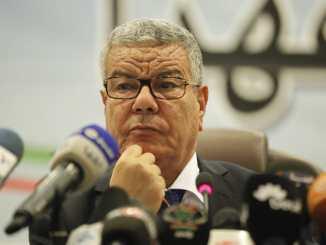 عمار سعداني الأمين العام الأسبق، لحزب جبهة التحرير الوطني