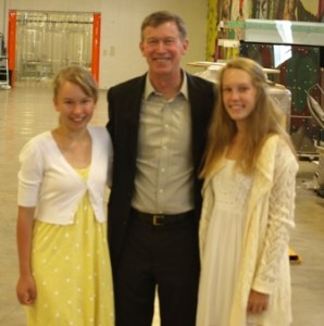 Meeting Governor Hickenlooper