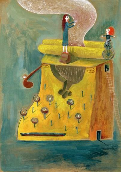 Memoria Ilustrada 2012 - Cuentos para No Olvidar. 8 cuentos x 231 ilustradores. Para gente de 8 a 108 años. Una muestra de originales de ilustración conmemorando el 18ª aniversario del atentado a la AMIA, organizada entre el Espacio de Arte AMIA y el Foro de Ilustradores.