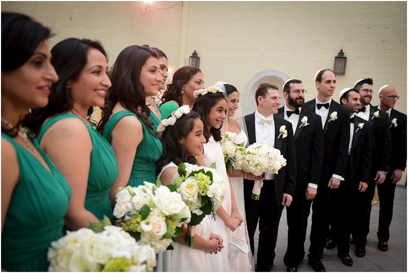 Indian/Jewish Wedding at the Engineer's Club in Baltimore | View More: http://anaisabelphotography.pass.us/dena-bryan-wedding