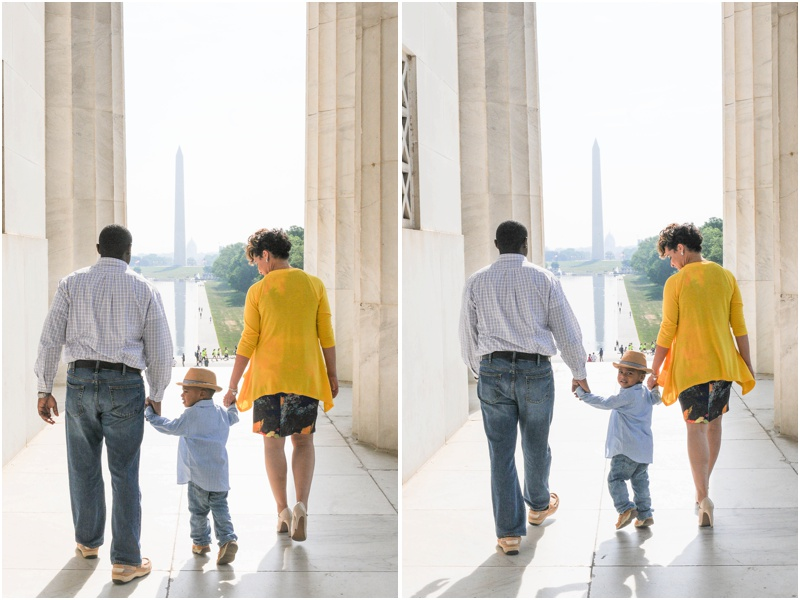 Tyler Family Portrait at the Lincoln Memorial-98