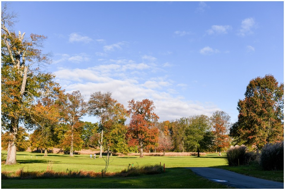 Golf tournament at Turf Valley Golf Club in Ellicott City MD