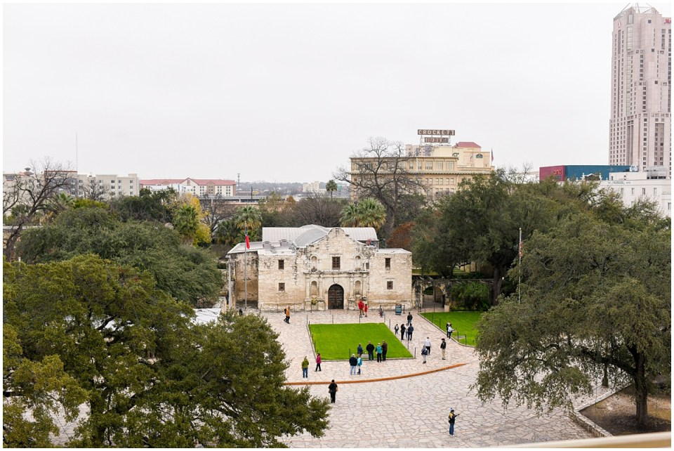 Event photographer at La Vista Terrace in San Antonio with views of the Alamo