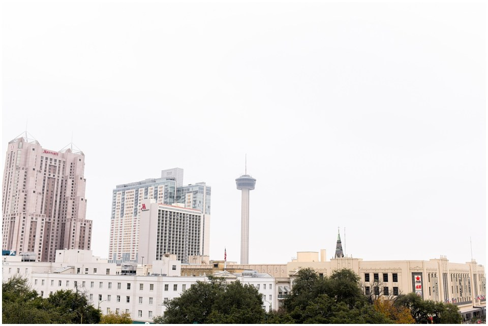 Event photographer at La Vista Terrace in San Antonio with views of the Tower of the Americas