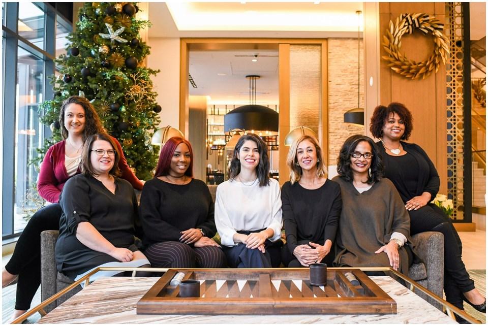Restaurant Association of Metropolitan Washington team by Ana Isabel Photography