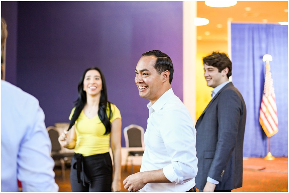 Presidential Candidate Julian Castro photographed by Ana Isabel Martinez Chamorro