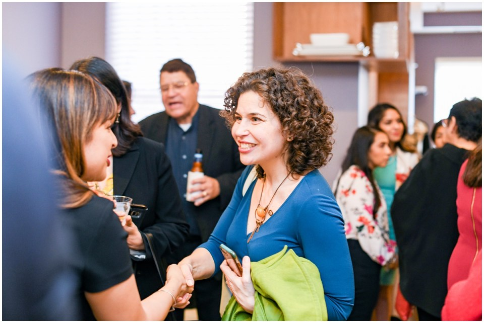 Female political event photographer