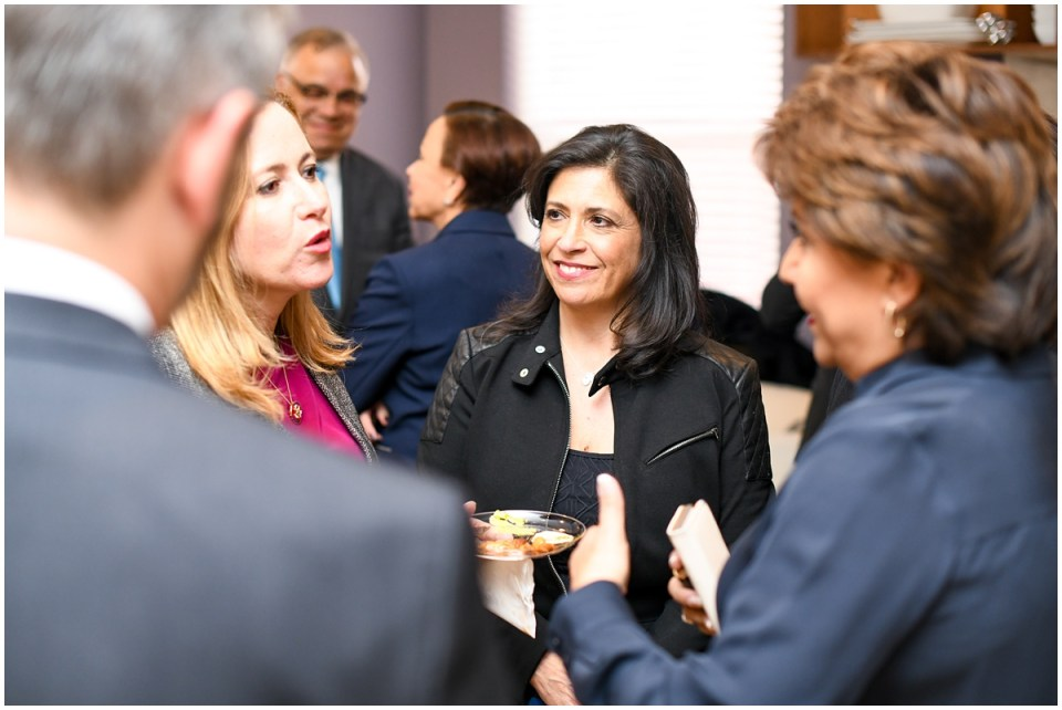 Catherine Pino photographed by female political event photographer
