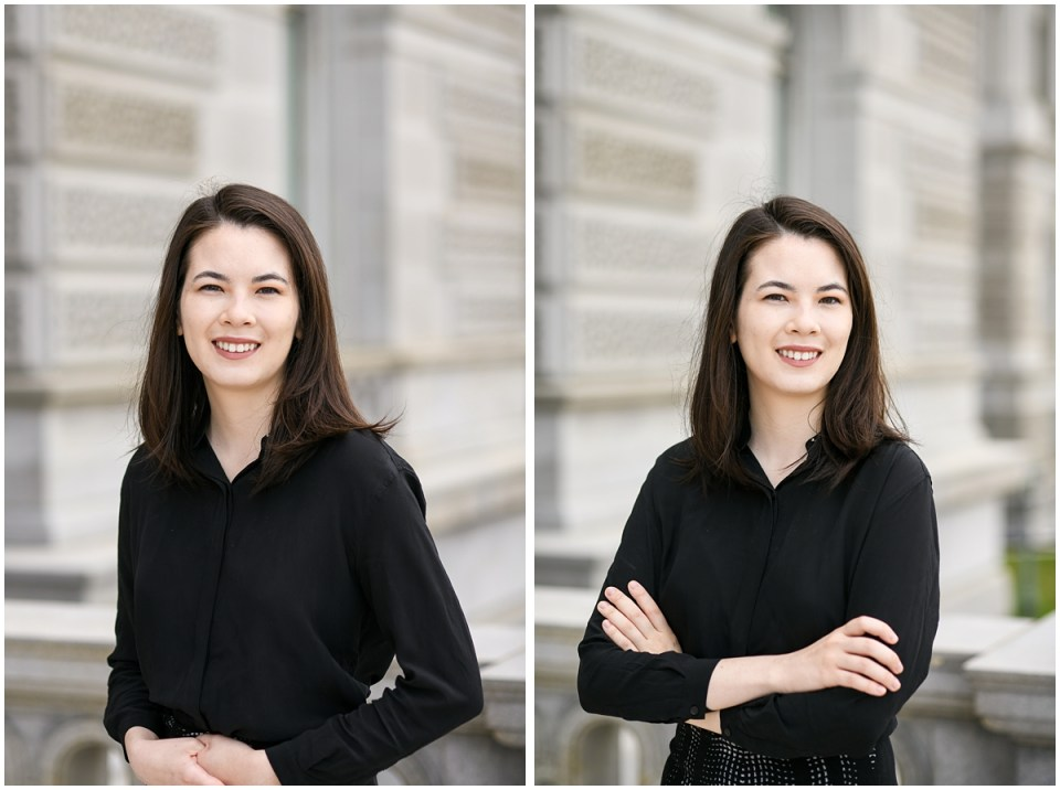 Women executive headshot photographer