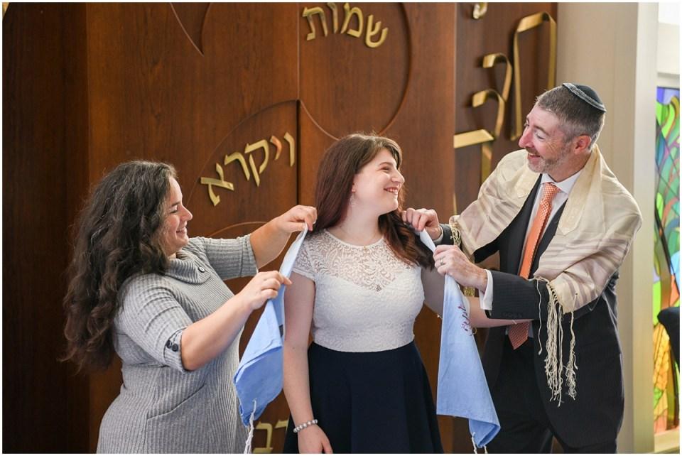 COVID safe intimate bat mitzvah