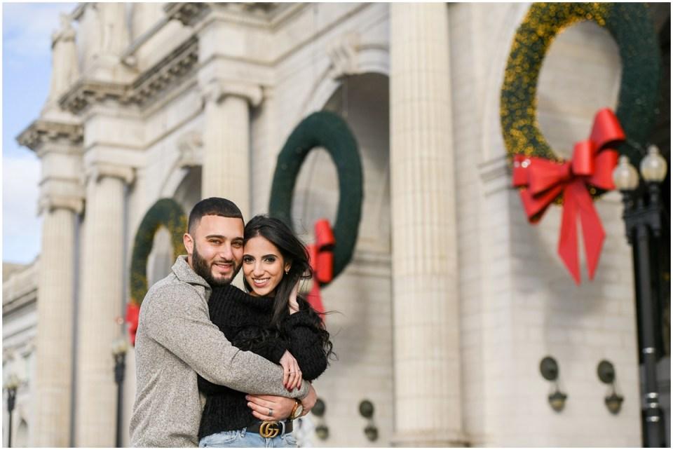 Christmas photos in Washington DC