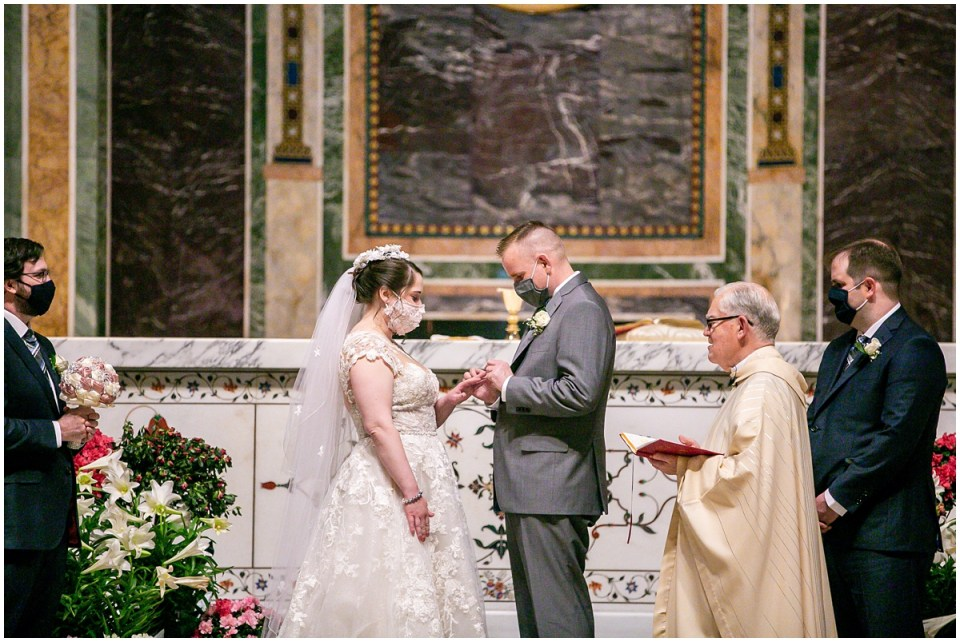Wedding at Cathedral of St. Matthew in Washington DC