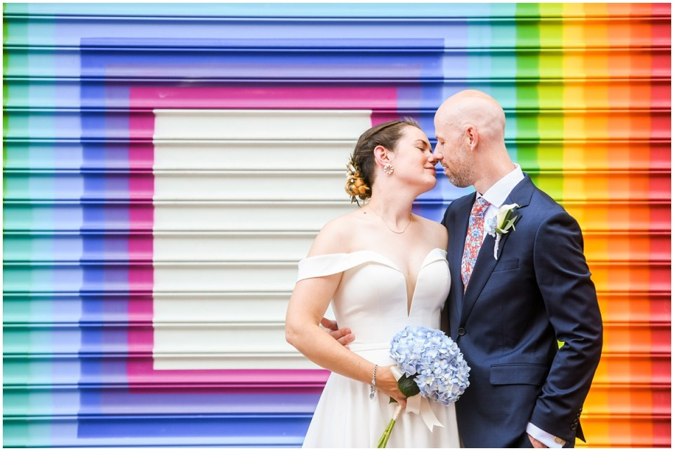 Wedding at Blagden Alley and Three Stars Brewery in Washington DC